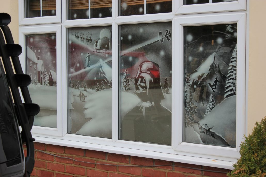 WHAT OUR CUSTOMERS SAY & Snow Windows | Traditional winter scenes